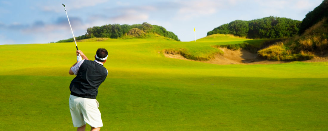 Øvelser for en bedre golfsving!